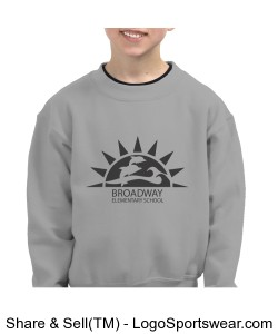 Kids_Swearshirt_Broadway Logo Design Zoom