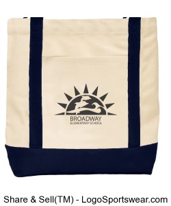 Broadway Tote Bag Design Zoom