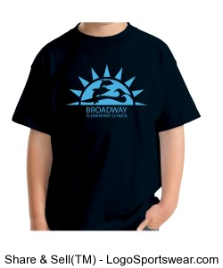 Kids_black/blue_Broadway Logo Design Zoom