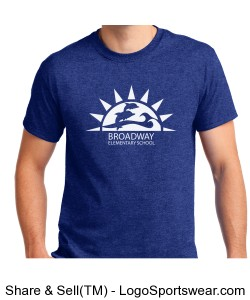 Adult shirt_Broadway Logo Design Zoom
